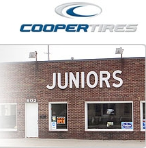 Juniors has always been and will always be about helping to keep our community free of old tires and we always happily take tires that Norm and Steve bring us. Go get those tires out of the lakes and rivers.  That's NOT where they belong.