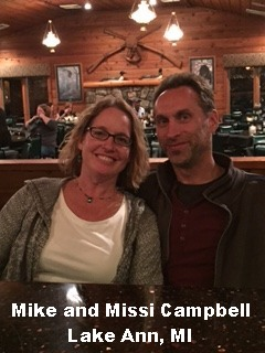 Mike and Missi Campbell, Lake Ann MI