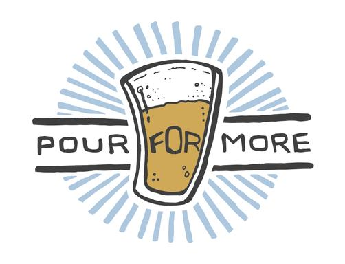 Pour For More helps 12 local charities a year. The BRCS is one of our favorites.
