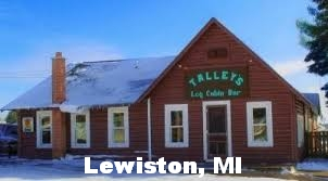 We at Tally's Log Cabin Bar in Lewiston, MI want to help anyone who helps to keep the environment clean and beautful.  Thanks for coming to our part of the state to do work for our branches of the AuSable River.