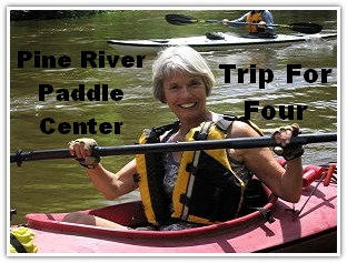 Donated by The Pine River Paddle Center - We are so happy to be able to help the BRCS keep our rivers clean.  Val and I have worked side by side with these river saints and we are honored to help out any way we can.
