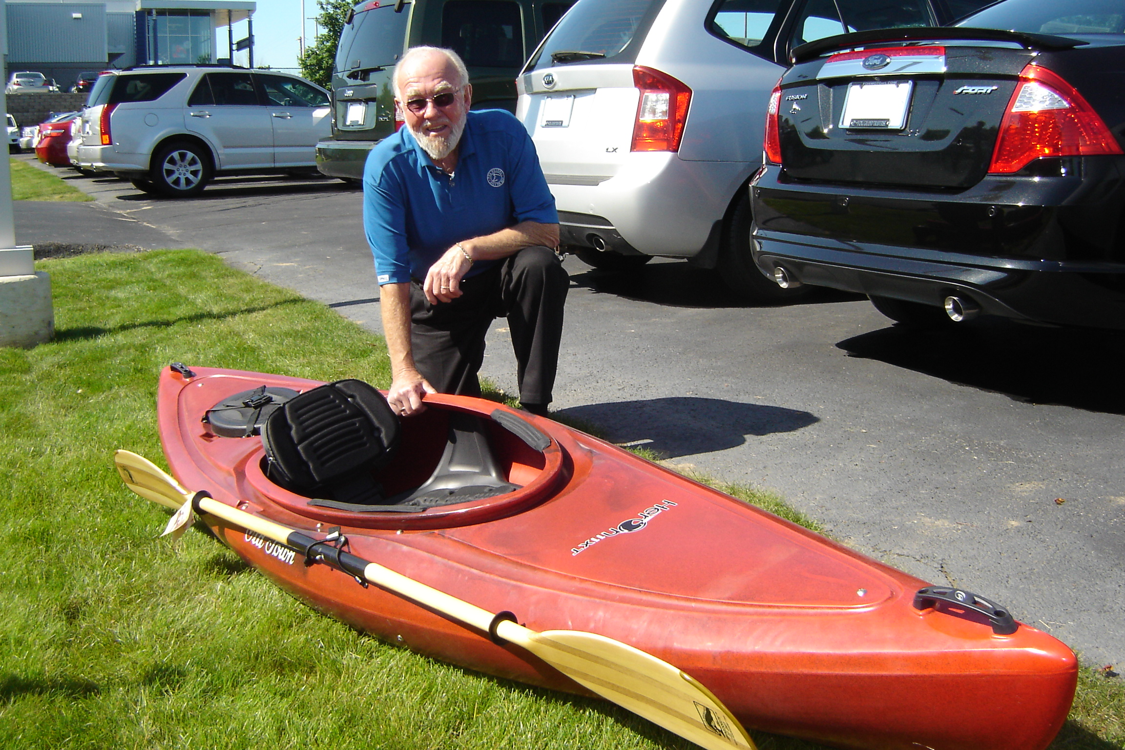Kayak Donated by Jay's Sporting Goods - Clare, MI